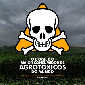O Brasil é o maior consumidor de agrotóxicos do mundo