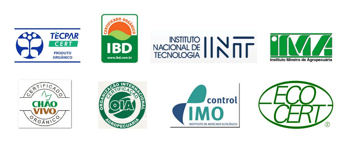 Empresas Certificadoras de produtos orgânicos