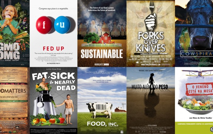Lista de documentário sobre alimentação e sustentabilidade
